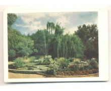 Крым. Бассейн Никитского ботанического сада имени В. М. Молотова