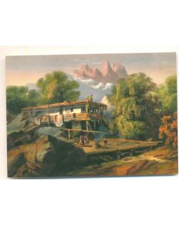 Карло Боссоли. Сакля в Алупке. 1856 г.