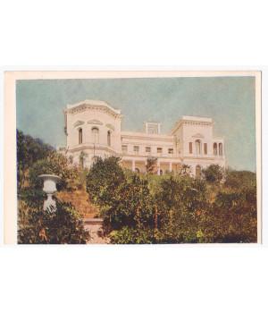 Крим. Лiвадiя. Палац. Вид з моря