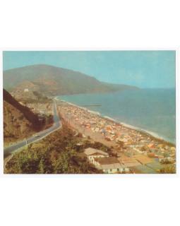 Крым. Алушта. Пляж в с. Рыбачьем
