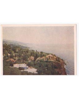 Крим. Алупка. Краєвид з морем