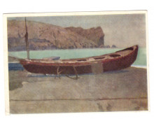Лодка у мыса Алчак