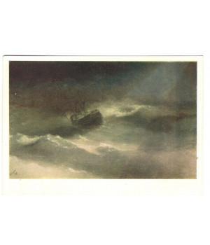 "Корабль ""Мария"" во время шторма"