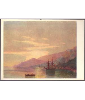 И. К. Айвазовский. Суда на рейде (1859 г.)