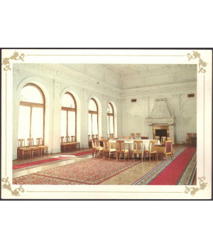 Белый зал, в котором в 1945 г. проходила Крымская (Ялтинская) конференция глав правительств