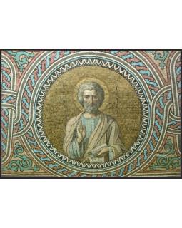 Апостол Петр, мозаичный образ. Открытка