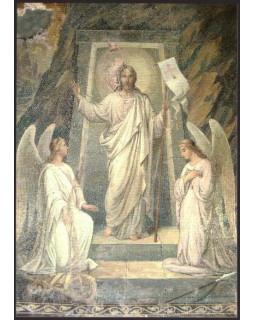 Мозаичная икона Воскресения Христова. Открытка