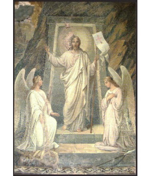 Мозаичная икона Воскресения Христова