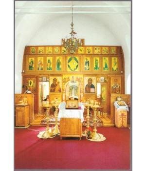 Современный интерьер храма