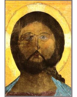 Иконостас. Образ Спасителя. 1916 г. Открытка
