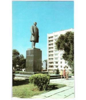 Саки. Памятник В. И. Ленину