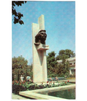 Крым. Евпатория. Памятник А. М. Горькому