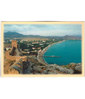 Вид Судака с Генуэзской крепости