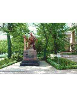 Евпатория. Памятник С. Дувану
