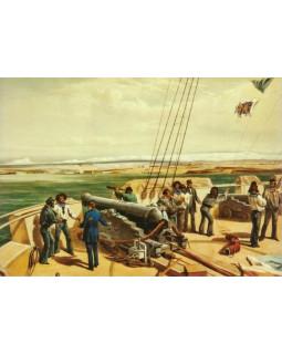 Уильям Симпсон. На палубе британского корабля. 1856 г.