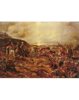 Роберт Гибб. Атака 42-го полка в Альминском сражении. 1900