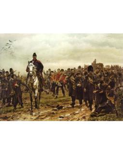 Лэди Батлер. Возвращение с Инкермана. 1877