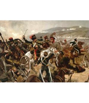 Ричард Кейтон Вудвиль. Прорыв легкой бригады британской кавалерии 13 октября 1854 г. 1897
