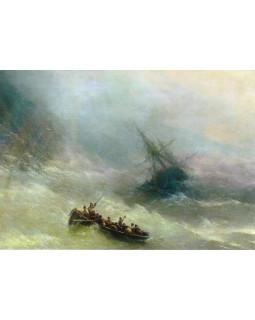И.К. Айвазовский. Радуга. 1873 г.