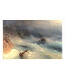 И.К. Айвазовский. Буря у мыса Айя. 1875