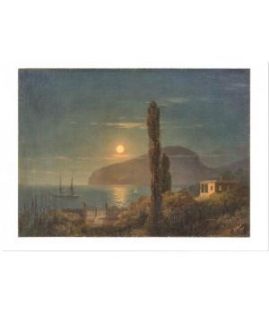 И.К. Айвазовский. Лунная ночь в Крыму. 1859