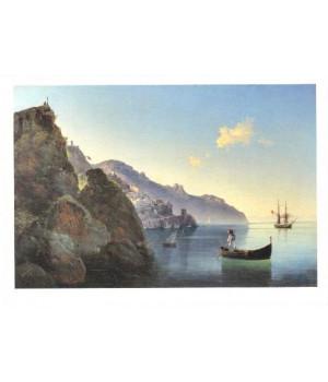 И.К. Айвазовский. Побережье Амальфи. 1841
