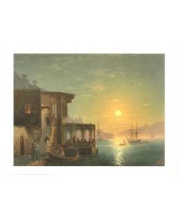 И.К. Айвазовский. Константинополь. 1882