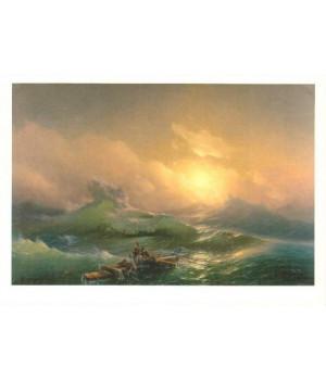 И.К. Айвазовский. Девятый вал. 1850