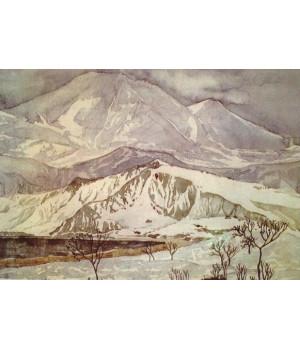 Холмы из мрамора и горы из песка. Максимилиан Волошин