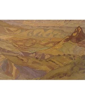 Коктебельский пейзаж. Максимилиан Волошин