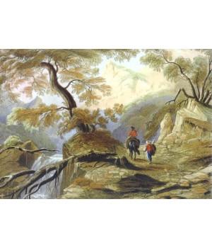 Долина Узенбаш (исток реки Биюк-Узенбаш)