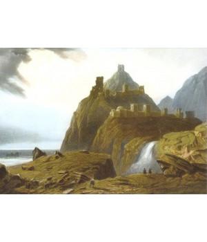 Остатки большой генуэзской крепости в Судаке