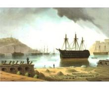 Арсенальная гавань, или военный порт, Севастополь
