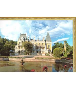 Массандровский дворец. Фотография на льняной бумаге
