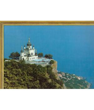 Форосская церковь. Фотография на льняной бумаге