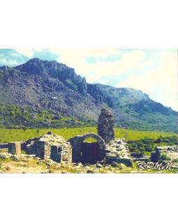 Гора Демерджи и развалины крепости Фуна