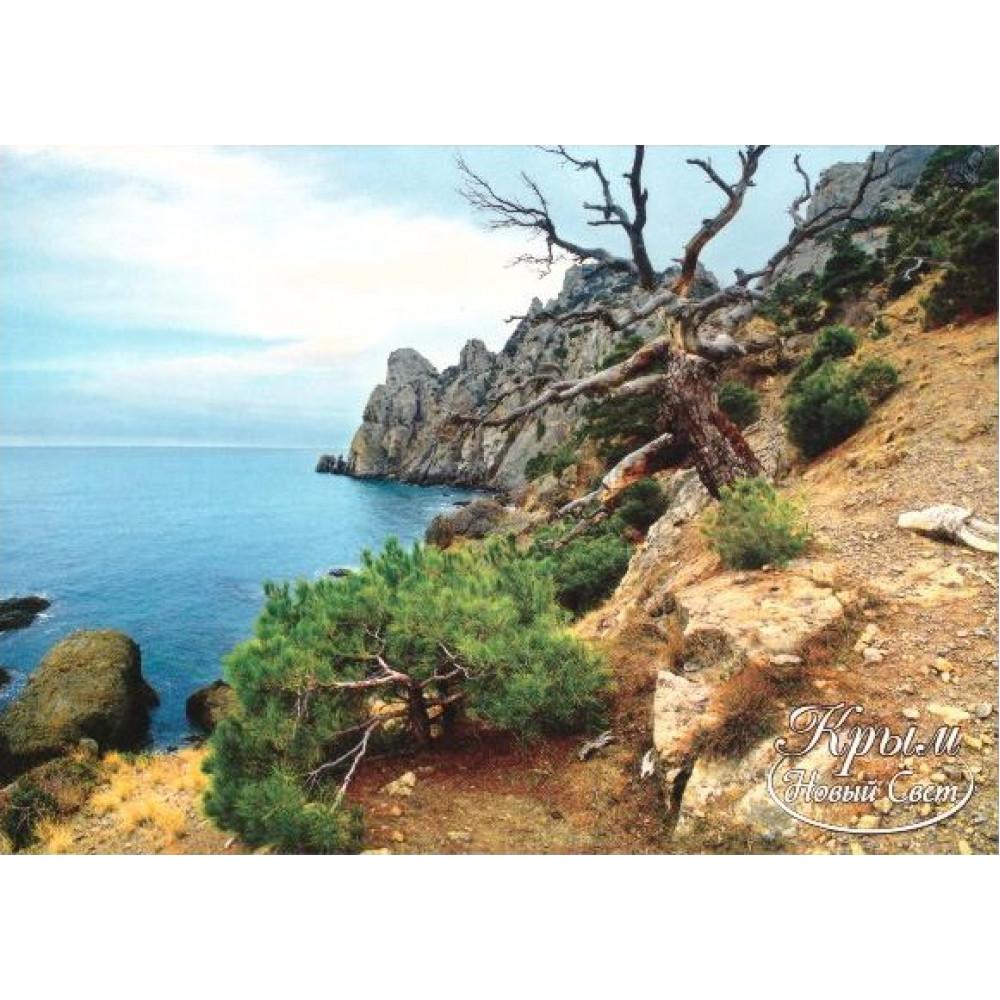 Крым новый свет открытки, открытка феи