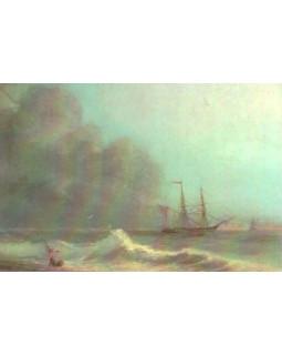 Море перед бурей. Иван Айвазовский