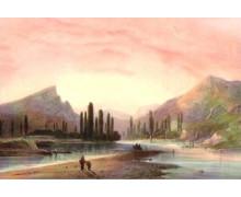 Река Альма. Карло Боссоли