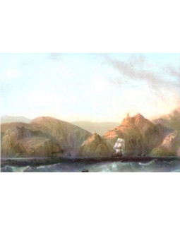 Вход в гавань Балаклавы. Карло Боссоли