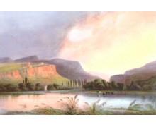 Устье реки Черной. Карло Боссоли
