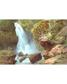 Водопад Джур-Джур. Карло Боссоли