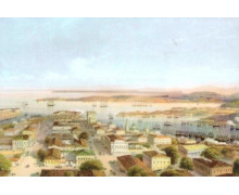 Общий вид Севастополь. Карло Боссоли