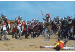 Рыцарский турнир Генуэзский шлем