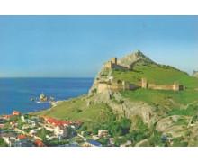 Судак. Генуэзская крепость. Открытка