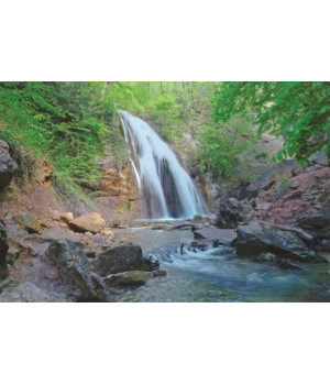 Водопад Джур-Джур. Открытка