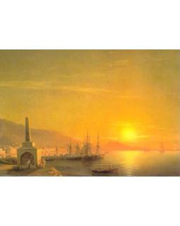 И.К. Айвазовский. Восход солнца в Феодосии