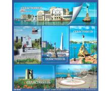 Севастополь. Магнитный набор на изолоне из 6 элементов