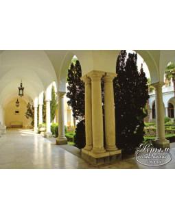 Итальянский дворик. Ливадийский дворец. Открытка