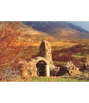 Руины древней крепости Фуна